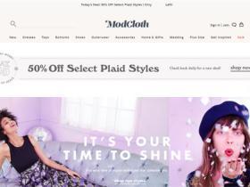 女性复古风服装商城:ModCloth