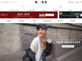 瑞典时尚品牌购物网:NA-KD