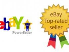 eBay优秀评级卖家:eBay Top-rated Seller