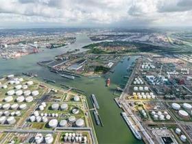 欧洲第一大港口:鹿特丹港