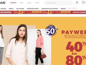 印尼最大的在线购物网站:MatahariMall