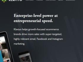 数字营销工具:Klaviyo