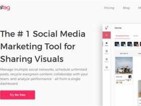 视觉社媒营销工具:Viraltag