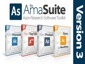 亚马逊产品关键词分析工具:AmaSuite